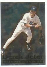 1998 Fleer Tradition Diamond Standout Derek Jeter Yankees Near Mint # 9 0f 20
