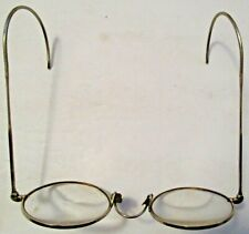 Vintage Shuron Gold Wire Rim Bifocal Eyeglasses ~ Eveleth Minnesota Optometrist