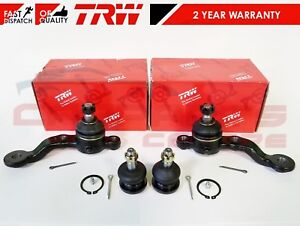 TRW BALL JOINTS FOR LEXUS IS200 ALTEZZA IS300 FRONT LOWER UPPER SUSPENSION