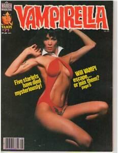 VAMPIRELLA #71 BARBARA LEIGH PHOTO COVER! SORCERESS! MACCU PICCU! 76 PAGES! NICE
