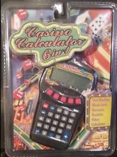CASINO CALCULATOR 6 IN 1 HANDHELD VIDEO GAME ... NEW
