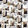 100% Cotton Digital Fabric Harry Potter Notebook Gryffindor Slytherin 150cm Wide