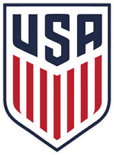 "United States Soccer Federation,USSF sticker decal 4"" x 5"""