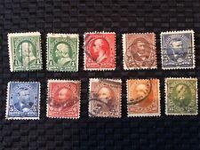 New ListingUs Stamps late 19th century Used #279-284 range