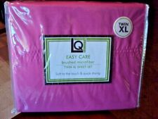 NEW - Living Quarters HOT PINK Twin XL 3-Piece Sheet Set - DORM - NEW IN PACKAGE