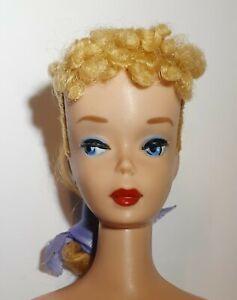 Vintage 1960 Barbie Blonde Ponytail #4 ~ all original