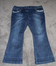 Plus Size High Waist Boot Cut Jeans for Women