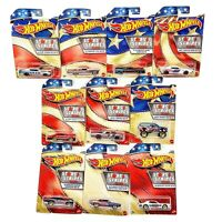 Hot Wheels 2020 Stars And Stripes Complete Set Of 10 - Walmart EXCLUSIVE in box