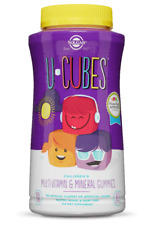 U-CUBES CHILDREN'S MULTI-VITAMIN & MINERAL GUMMIES (60 ct)