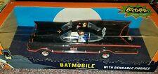 "NJ Croce 10"" Classic TV Series Batmobile with Bendable Figures"