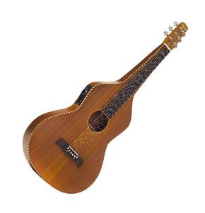 Guitar Electro Lap Steel Hawaiian W Model Fitted Hard Case 3611 by Ozark