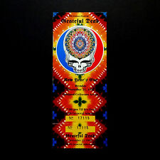 Grateful Dead Ticket New Years Eve 1990 1991 12/31/90 Steal Your Face GDTS BGP