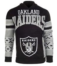 Hoodie Oakland Raiders Big Logo Hooded Sweater NWT Mens Large 30624-J2-1213