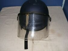 "TESH RS100 Riot Helmet Tactical Police Issue Authentic (Jumbo (7-7/8 - 8 1/4"") )"