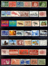 NORWAY 205 Different Stamps 1946-2006 Lot Used