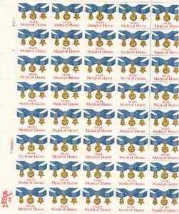 Scott # 2045... 20 Cent...Medal of Honor.... Sheet of 40