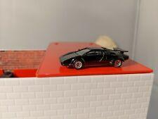 Lamborghini Countach - monogram 1/87  HO scale - Black