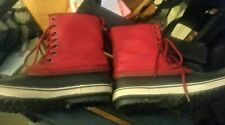 Sorel Womens 1964 Premium CVS RED Waterproof Insulated Rubber Snow Boots Sz 10!