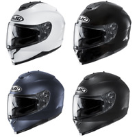 HJC C-70 Solid & Semi-Flat Full Face Motorcycle Street Helmet