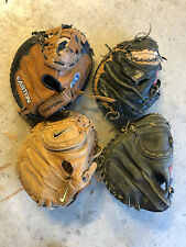 4 catchers mits-Nike, Easton and a pair of Rawlings
