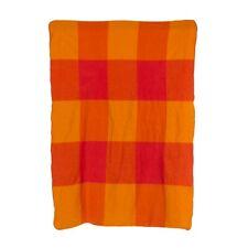 Vintage Alexander Girard Wool Blanket for Braniff International Airlines