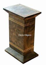 Säule Stuckgips Dekosäule Podest Tisch Medusa Möbel Säulen Deko Möbel 1084 F110