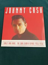 JOHNNY CASH  Early And Rare: The Sun Studio Demos Vinyl LP 1955/1956 New Ltd Edn