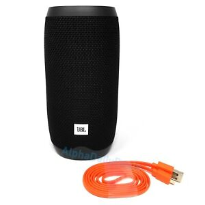 New JBL Link 10 Smart Speaker Portable Bluetooth Wi Fi Black Voice Activated
