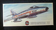 Airfix dassault super mystere B2 1/72 scale aircraft model kit