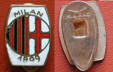 "DISTINTIVO FOOTBALL SOCCER ASSOCIAZIONE CALCIO MILAN 1899 MARCATO ""MILANO/ITALY"""