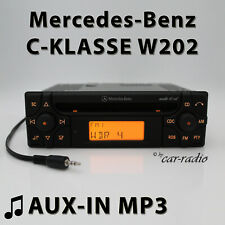Mercedes Audio 10 CD MF2910 Aux-In MP3 W202 Car Radio C-Class S202 Cd-R Radio