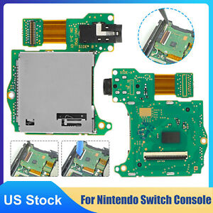 Game Cartridge Card Slot Reader & Headphone Jack Replacement for Nintendo Switch