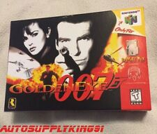 GOLDENEYE 007 (Nintendo 64 N64, 1997) Video Game Complete CIB w/ Custom Box MINT
