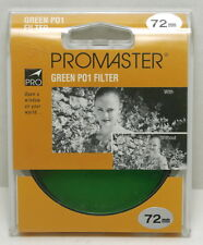 PO1 Green Filter Promaster - 4766 72mm UPC 029144047665 FREE SHIPPING!!!