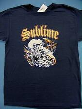 NEW SUBLIME SECOND HAND SMOKE MENS T-SHIRT SMALL