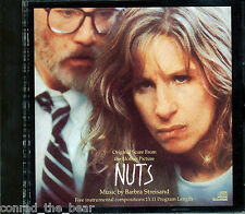 "Barbra Streisand ""NUTS"" soundtrack CD out of print CXK40876"