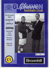 2000/01 Glenavon v Linfield - Irish League - 16th Dec - Vol 19 No 11