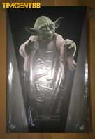 Ready Hot Toys MMS369 Star Wars V The Empire Strikes Back Yoda 1/6 Figure