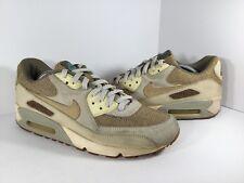 Nike Air Max 90 Premium Crepe Hemp Khaki Mens Size 11 Rare 308855-221