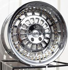 19X11 ESM 015 Rims 5X120 +20 Platinum Chrome Wheels (Set of 4)