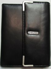 Rolodex Passport Wallet / Holder / Folio with ID holder and six slots for cards