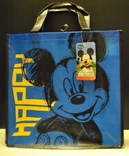 Mickey Mouse Disney Jr. Reusable Tote Bag in Blue For Shopping Toys Beach NEW