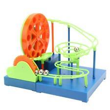 DIY Light Sound Marble Race Run Maze Balls Track Blocks Toys Child Kids