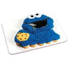 NEW SESAME STREET COOKIE MONSTER  CAKE TOPPER KIT
