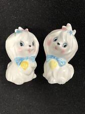 Lefton Set of 2 Mr. Toodles #3235 Salt & Pepper Shaker Dog Figurines