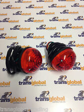 Land Rover Defender (to 94) Pair Rear Stop Brake Light Lamps - Bearmach - BR1317