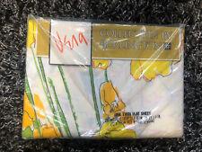 Vintage Vera Neumann Twin Flat Sealed Nip Yellow Daffodils