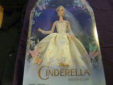 """NIB Disney Cinderella Wedding Day Cinderella 12"""" Doll"""
