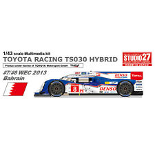Studio27 FD43027 1:43 TOYOTA TS030 WEC 2013 Bahrain Multimedia Kit
