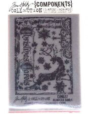 Stampers Anonymous TIM HOLTZ Cling Mounted Stamp REINDEER GAMES COM027 D